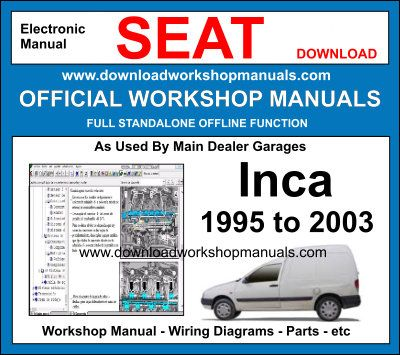 Seat inca Service Repair Workshop Manual Download